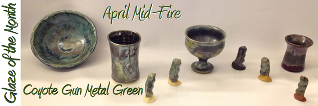 Mid-Fire Glaze of the Month - April 2013