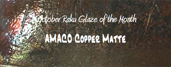 Specialty Glaze of the Month - October 2013