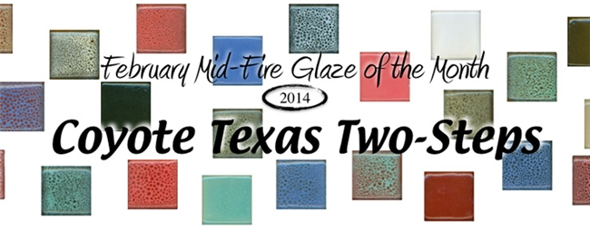 Mid-Fire Glaze of the Month - February 2014