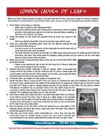Common Leaks information