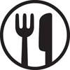 Dinnerware safe logo
