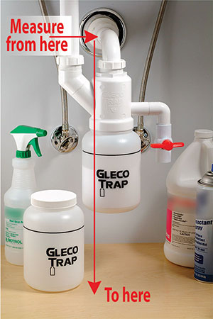 How to measure for The Gleco Trap